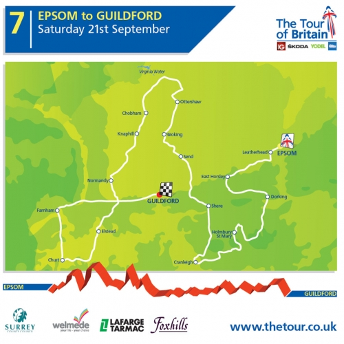 Tour of Britain will speed through Chobham