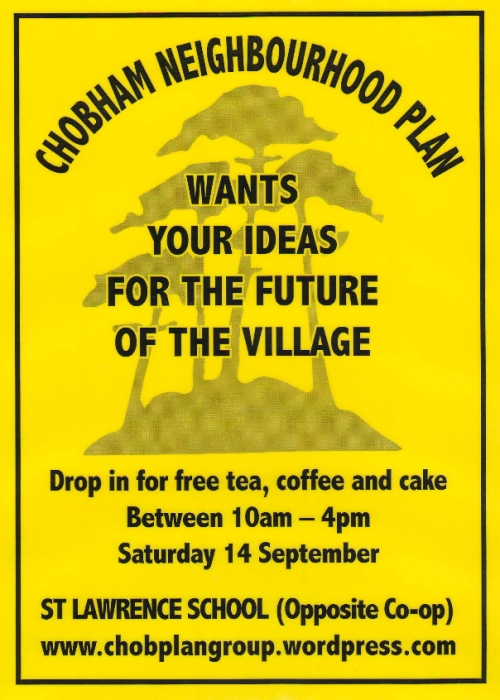 Chobham Neighbourhood Plan Poster