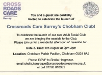 Crossroads Care in Chobham