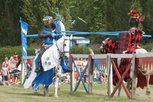 Jousting at the Chertset Agricultural Show