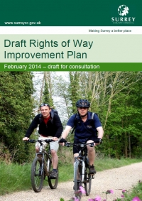 Update on the Surrey Rights of Way Improvement Plan