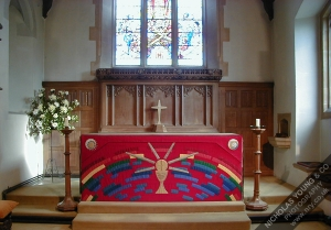 St Lawrence Altar and East Window