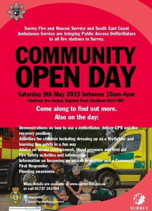 Surrey Fire and Rescue Community Open Day