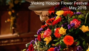 Woking Hospice Flower Festival, May 2015