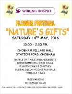 Woking Hospice Flower Festival, May 2016