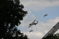 Chobham has grandstand view of royal flypast